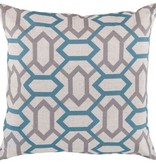 SURYA ZOE PILLOW IN TEAL