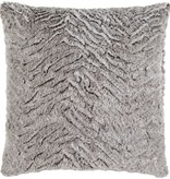 SURYA FELINA PILLOW IN LIGHT GRAY
