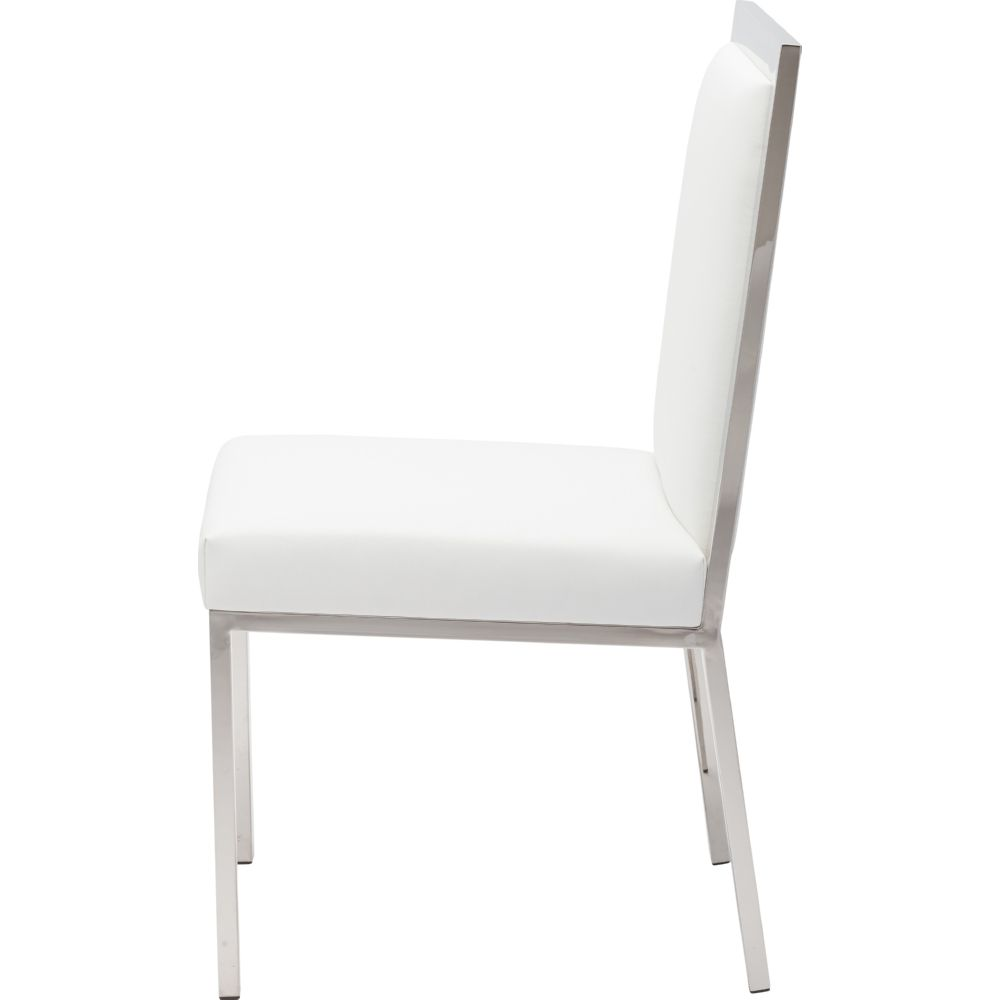 NUEVO RENNES DINING CHAIR IN WHITE