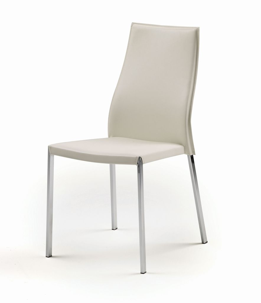 NUEVO ERIC DINING CHAIR IN WHITE