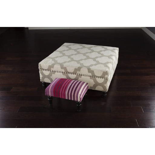 SURYA FURNITURE - TRELLIS OTTOMAN