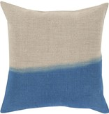 SURYA DIP DYED PILLOW IN DEEP TEAL
