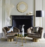 JONATHAN ADLER BACHARACH SWIVEL CHAIR
