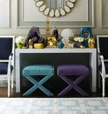 JONATHAN ADLER LACQUER CONSOLE - WHITE