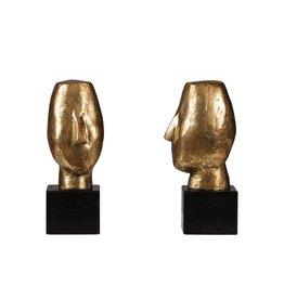 BUNGALOW 5 ALBERTO STATUE (PAIR), GOLD