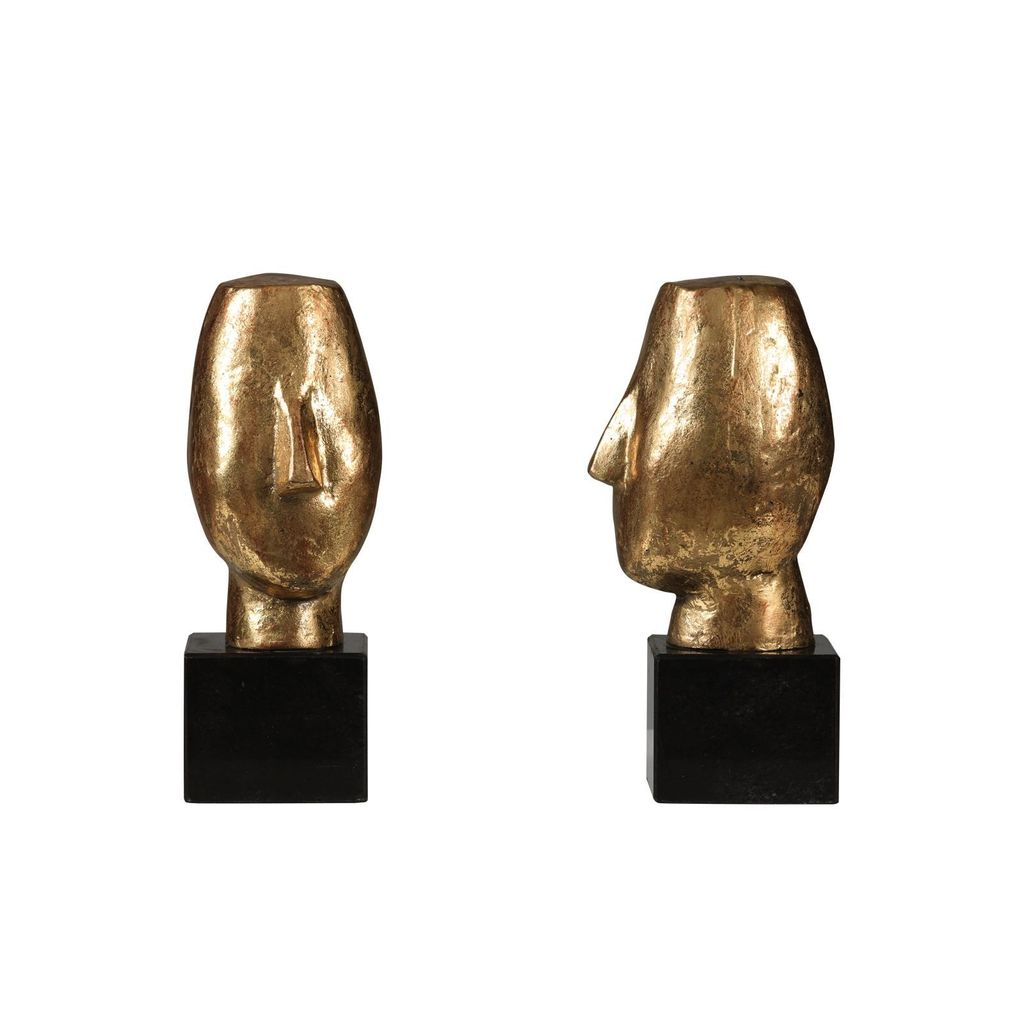 BUNGALOW 5 ALBERTO STATUE (PAIR), GOLD