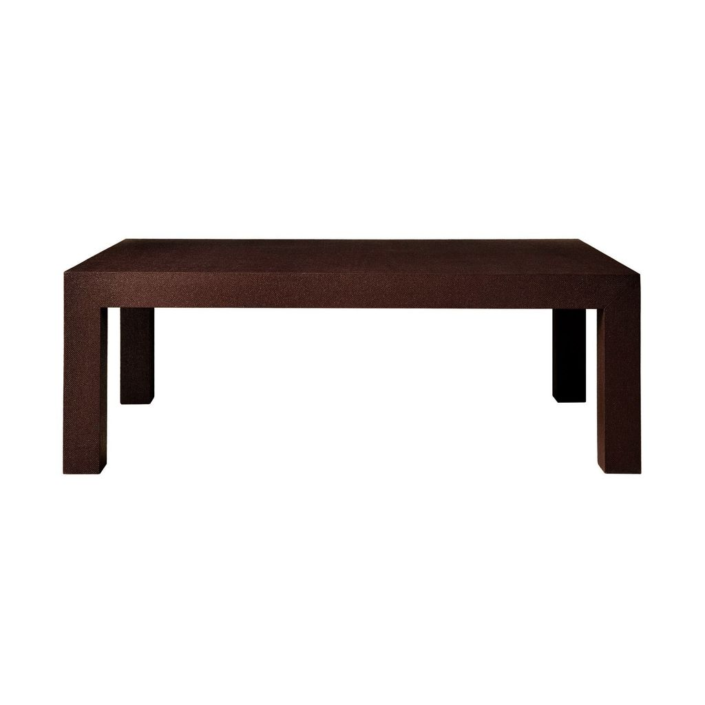 BUNGALOW 5 PARSONS COFFEE TABLE, BROWN