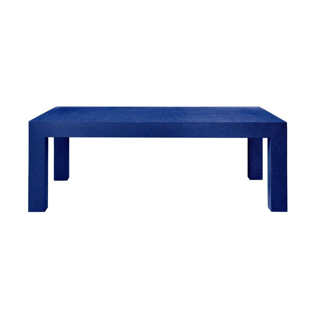 BUNGALOW 5 PARSONS COFFEE TABLE, BLUE