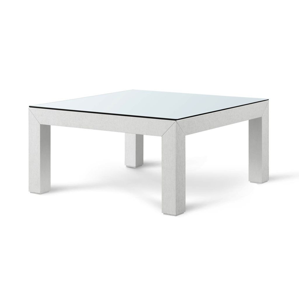 BUNGALOW 5 VALENTINA COFFEE TABLE, WHITE