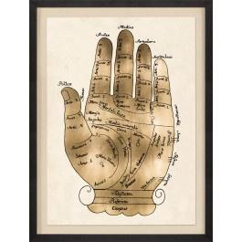 GALLICUS HANDS 1, GOLD LEAF