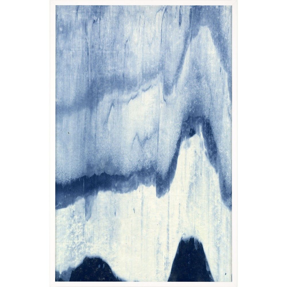 ABSTRACTED LANDSCAPE, BLUE 5