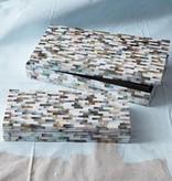 TOZAI HOME S/2 MOP MOSAIC BOXES