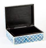 TOZAI HOME LAPIS S/2 TINT BOXES