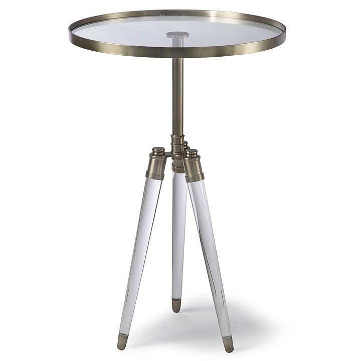 REGINA ANDREW BRIGITTE TABLE - BRASS