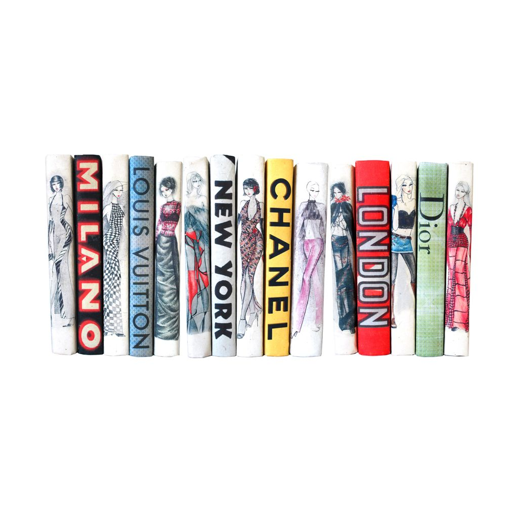 HAUTE COUTURE COLLECTION- SET OF 9 ASSORTED BOOKS