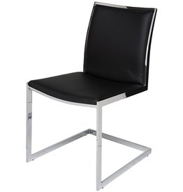NUEVO TEMPLE DINING CHAIR IN BLACK