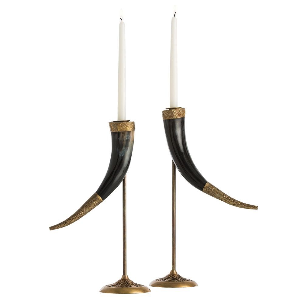 DIANA CANDLESTICKS, SET OF 2