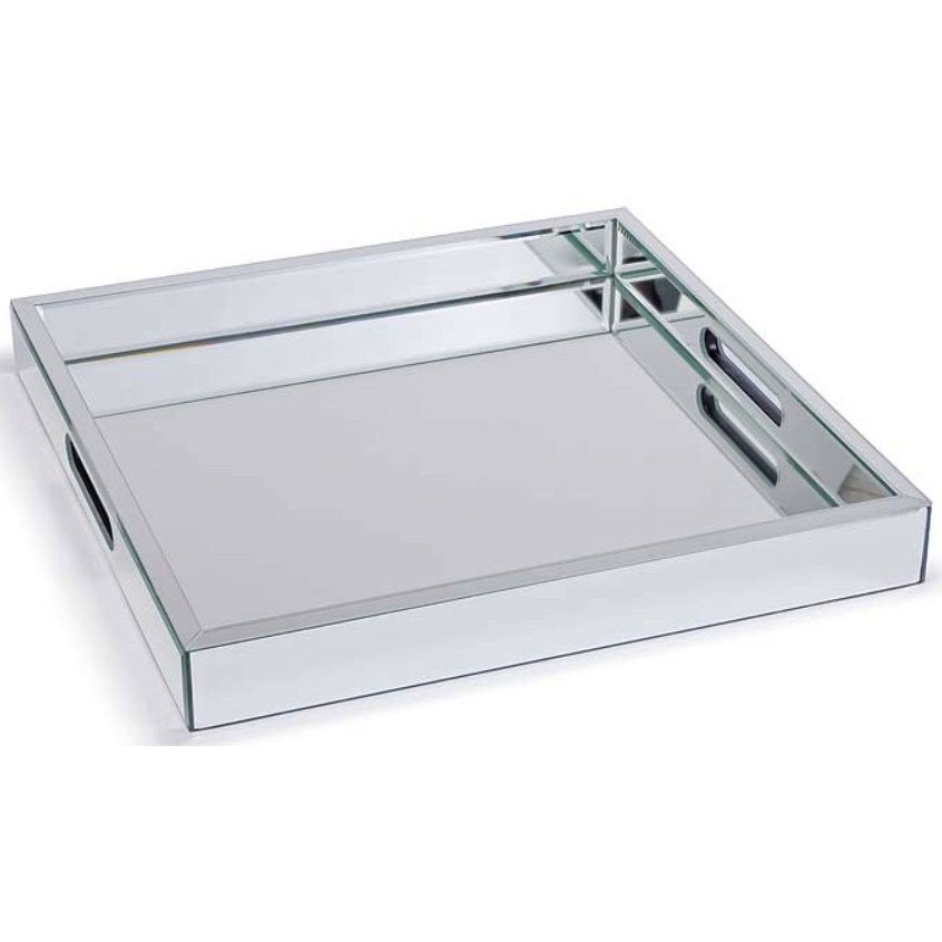 LARGE MIRRORED TRAY