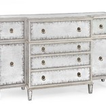 SILVER EGLOMISE BUFFET