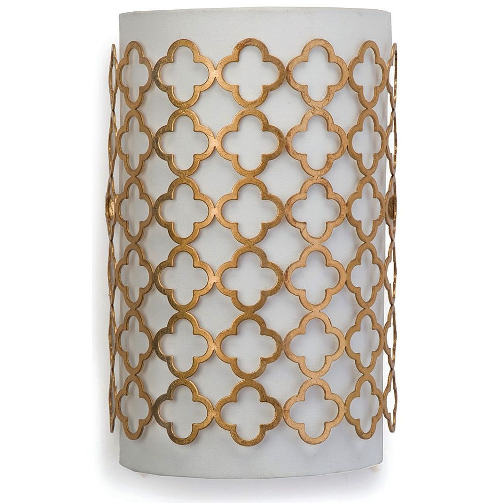 GOLD MODERN LUXE SCONCE