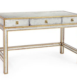 GOLD EGLOMISE WRITING TABLE