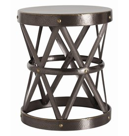 COSTELLO SIDE TABLE (BRASS)