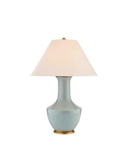 LAMBAY TABLE LAMP/ICE BLUE