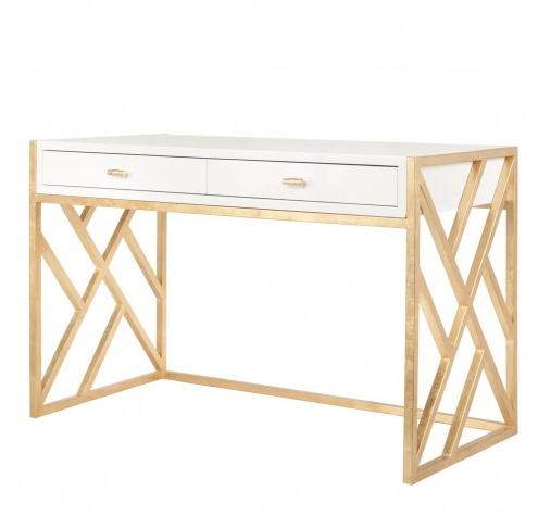 CORDELIA WHITE DESK