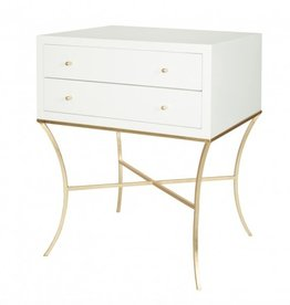 ELENA GOLD SIDE TABLE