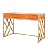 CORDELIA ORANGE DESK