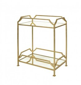 JOSHUA GOLD SIDE TABLE