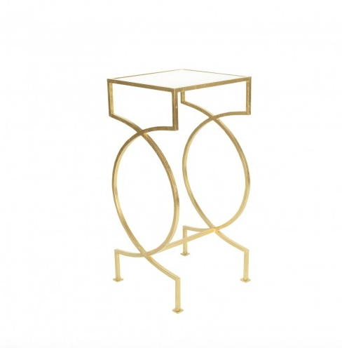 SAMANTHA GOLD SIDE TABLE