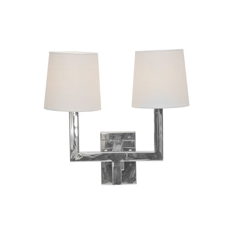 KENNEDY NICKEL WALL SCONCE