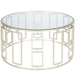 JENNY SILVER COFFEE TABLE