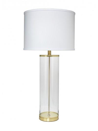 ROCKEFELLER TABLE LAMP w/ CLASSIC DRUM SHADE
