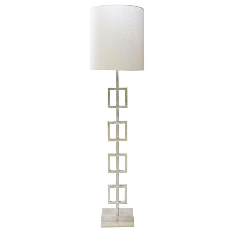 QUINN SILVER FLOOR LAMP