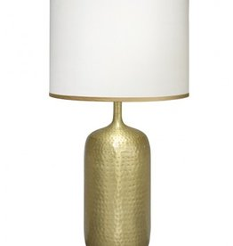 SAFI TABLE LAMP w/ LARGE DRUM SHADE