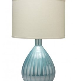 AKOYA TABLE LAMP w/ LARGE DRUM SHADE