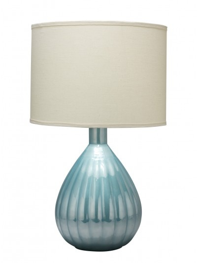 AKOYA TABLE LAMP w/ LARGE DRUM SHADE