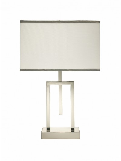 ARMA TABLE LAMP w/ MEDIUM RECTANGLE SHADE