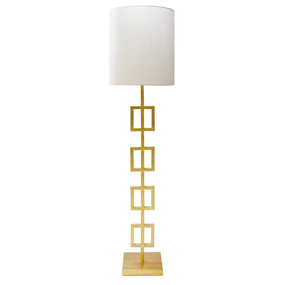 QUINN GOLD FLOOR LAMP