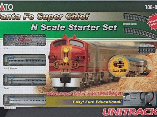 Kato USA (KAT) 381- N SF Super Chief Starter Set
