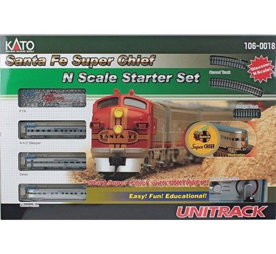 N scale Santa Fe Super Chief StarterTrain Set