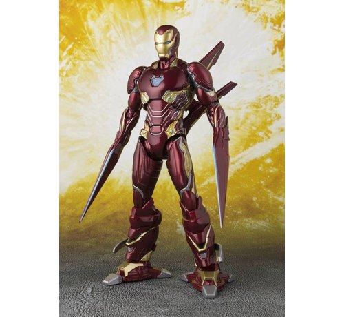 "Tamashii Nations 55298 Iron Man Mk-50 Nano-Weapon Set ""Avengers: Infinity War"", Bandai S.H.Figuarts"