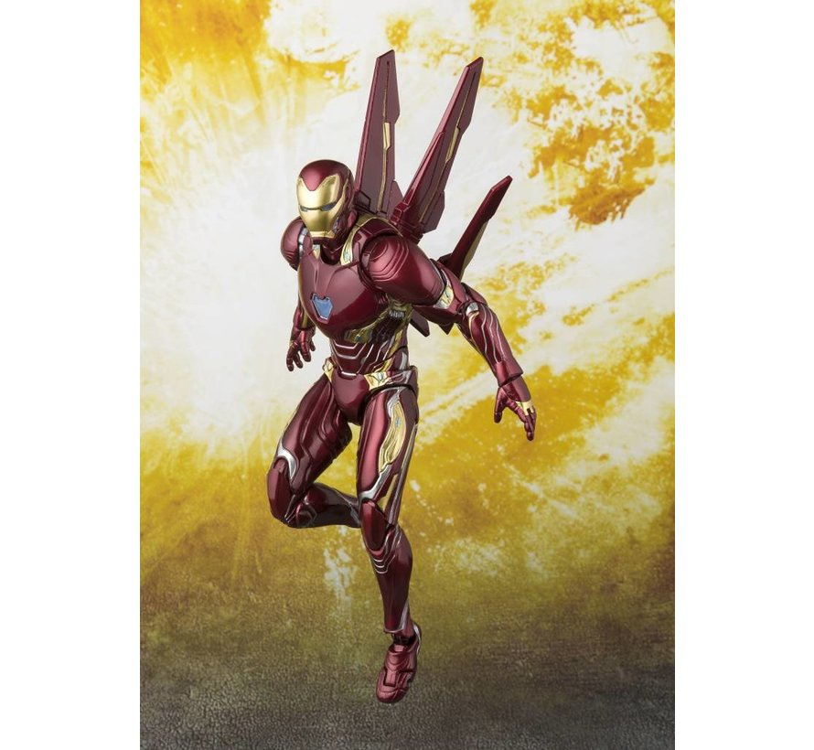 "55298 Iron Man Mk-50 Nano-Weapon Set ""Avengers: Infinity War"", Bandai S.H.Figuarts"