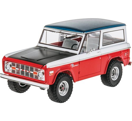 RMX- Revell 854436 - Baja Bronco 1971 thru 1975 Plastic Model Kit 1/25