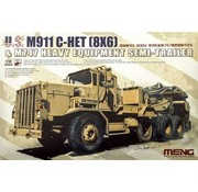 MGK-MENG MODEL KITS 1/35 U.S. M911 C-Het & M747  Semi &Trailer
