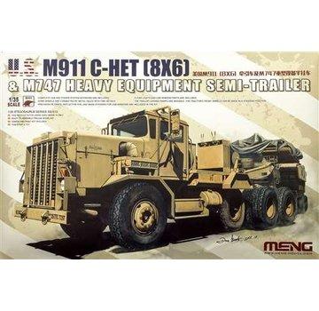 MENG MODEL (MGK) 1/35 U.S. M911 C-Het & M747  Semi &Trailer