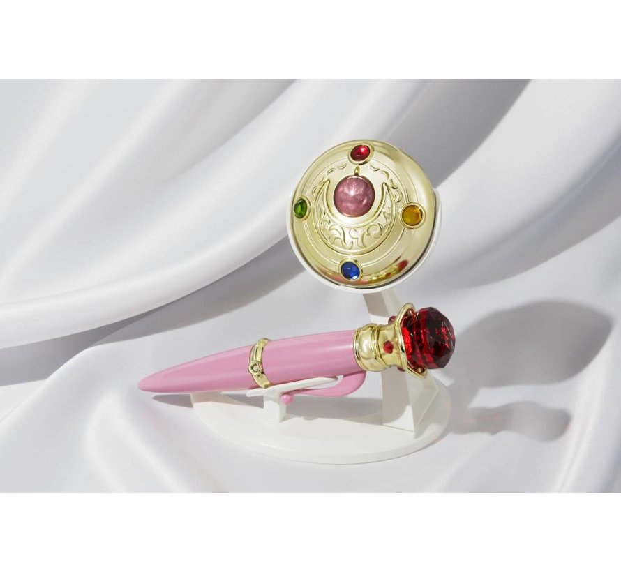 "55055 Transformation Brooch & Disguise Pen Set ""Sailor Moon"", Bandai Proplica"