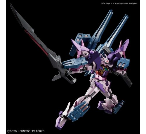 "BANDAI MODEL KITS 5055359 #21 Gundam 00 Sky HWS (Trans-Am Infinity Ver.) ""Build Divers"", Bandai HGBD 1/144"